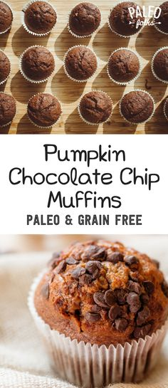 Paleo Pumpkin Chocolate Chip Muffins | Paleo Folks Blog