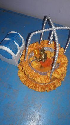 Shree Krishna, Krishna Art, Radhe Krishna, Lord Krishna, Janmashtami Decoration, Laddu Gopal Dresses, Bal Gopal, Ladoo Gopal, Baby Krishna