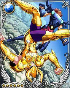 saint seiya soul of gold galaxy battle cards - Buscar con Google