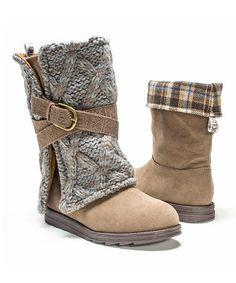Another great find on #zulily! Taupe Nikki Boot - Women #zulilyfinds