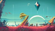 Sky Games, Games Box, Tour Around The World, Around The Worlds, Rick And Morty Wallpaper, No Man's Sky Game, Big Game, Hello Games, Sky Day