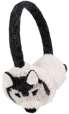 Back Worn Stylish Cozy Earmuff Fit On Your Head Fit In Your Pocket Childrens Carton Pattern Warm-U Winter Is Coming Get Your Ear Warmer Ready