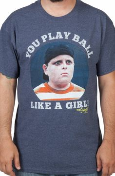 Play Ball Like A Girl Sandlot Shirt
