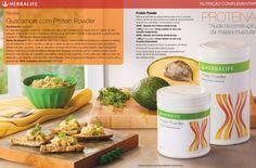 Guacamole com Proteína herbalife Ingredientes • 2 colher (sopa) de Pó de…