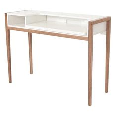 FARRINGDON LAPTOP DESK   Made With Solid Oak And Painted Wood   FSC   An  Excellent