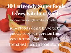 Healthy foods don't need to be fancy.