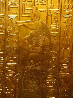 King Tut - Anubis (by D.Athina) Got to see this in Chicago years ago.