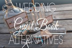 Wedding Guest Book Alternatives  http://rusticweddingchic.com/february-etsy-round-rustic-wedding-guest-book-alternatives