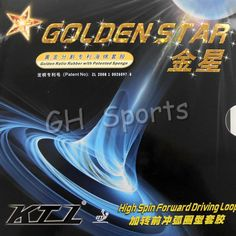 Cheap pingpong rubber, Buy Quality table tennis directly from China table table tennis Suppliers: Original KTL GOLDEN STAR (High Spin Forward Driving Loop) pips-in Table Tennis Pingpong Rubber with Sponge Table Tennis Sport Table Ping Pong, Table Tennis Racket, Star Wars, Racquet Sports, Golden Star, Happy Shopping, Spinning, Pimples, Food