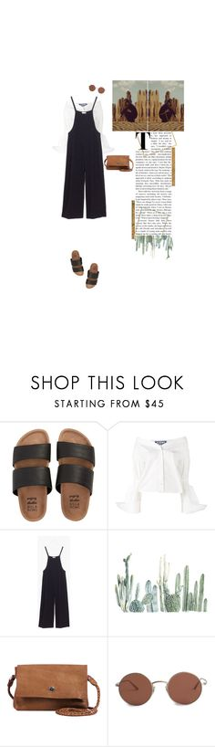"""""""47) it's just a hypothesis i test, that i should not exist"""" by theotherjoanne ❤ liked on Polyvore featuring Billabong, Jacquemus, Madewell, Day & Mood, The Row, Spring, black, sandals, brown and overalls"""