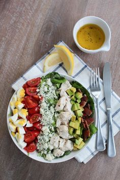 Classic Eats: Cobb Salad | The Everygirl -- without the bacon or chicken