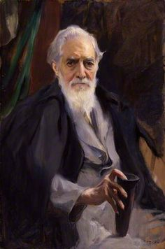 The English Egyptologist, Sir (William Matthew) Flinders Petrie, 1934 by Philip de Laszlo (1869-1937)