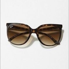 Ray Ban Cats 1000 Women's Sunglasses. Like new! Brand new condition. Includes case & cleaning cloth.  No trades.  Ray-Ban Accessories Sunglasses