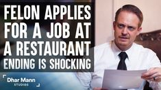Criminal Applies For A Job At Restaurant, What Happens Next Is Shocking | Dhar Mann. People aren't defined by their past. They can grow and change for the better. For more motivational videos, visit DharMann.com #DharMann