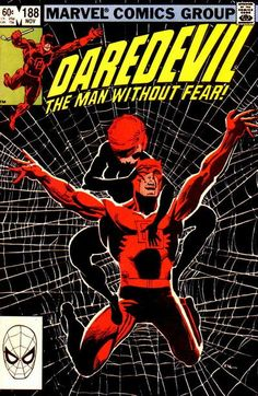 DAREDEVIL (Series Began (MAN WITHOUT FEAR) (MARVEL) Issue comics in Fine condition. Published by Marvel. Fine - An exceptional, above-average copy that shows minor wear but is still relatively flat and clean with slight creasing or minor defects. Marvel Comics, Marvel Comic Books, Comic Books Art, Marvel Dc, Frank Miller, Clint Barton, Comic Book Artists, Comic Book Characters, Anton