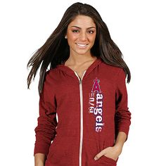 Los Angeles Angels of Anaheim Women's Lightweight Hoody by Soft as a Grape