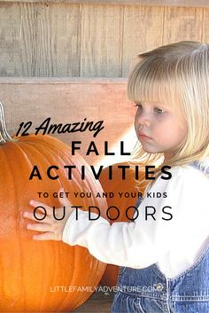 Summer may be over, but there has never been a better time to explore the outdoors with your family. Here are 12 Amazing Fall Activities for you to enjoy