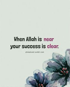 The true success is only with the help of Allah (subhanahu wa ta'ala). The success in this world and Hereafter is to live with correct understanding of the Deen-il Islam. Islam, this religion, this way of life, that Allah prescribed you to live by. This is your path to success indeed.