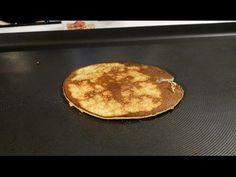 Deliciosos pancakes, hotcakes de plátano sin harina. Solamente 2 ingredientes. - YouTube