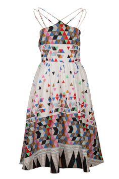 Lalesso Kilele Dress - Womens Calf Length Dresses - Birdsnest Online Fashion