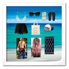 """Beach with Liam 1"" by tommo155204 ❤ liked on Polyvore featuring Topshop, Twin-Set, Zhuu, Chanel, Casetify, Vans and Havaianas"