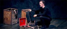 Benedict in the National Theatre Live: Hamlet (Barbican) trailer