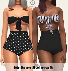 Sims 4 CC's - The Best: Meltem Swimsuit by Lumy Sims