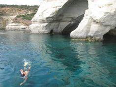Kleftiko, Milos, Greece