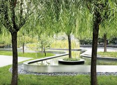 Cicada Landscape Architecture Singapore / photo by Patrick Bingham-Hall Landscape Architecture Design, City Landscape, Urban Landscape, Architecture Details, Modern Landscaping, Outdoor Landscaping, Architectural Photographers, Water Features In The Garden, Contemporary Landscape