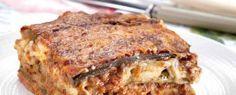 Λαζάνια με κιμά και μελιτζάνα - Knorr.gr