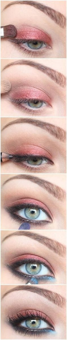 Graceful and Attractive Smokey Eye Tutorial