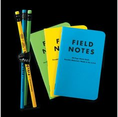 Field Notes summer neon three-pack