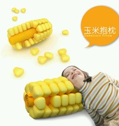 Sweetcorn pillow. What child wouldn't want this.