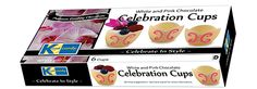 Kane Candy Pink & White Chocolate Celebration Cups
