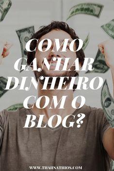 Como Ganhar Dinheiro com Blog?        Eu trabalho com blogs há mais de 9 anos e nesse período eu já falei sobre várias coisas na inter...