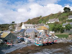 Cadgwith Cove- Cornwall, England