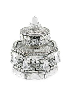 fe7fcf087 Judith Leiber Couture Fountain Grand Army Plaza Crystal Evening Clutch Bag,  Silver $6,395.00 Cute Bags
