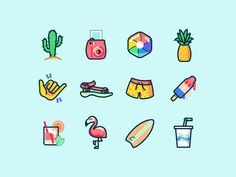 Just a set of illustrations for our new app, Shorts! Get it at https://tryonshorts.com