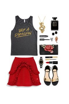 Geek Chic Outfit Inspiration: Be A Dragon