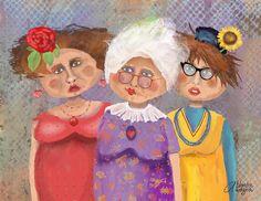 Bestfriendsforever Digital Art by Arline Wagner - Bestfriendsforever Fine Art Prints and Posters for Sale