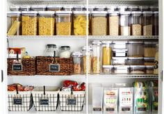 Is your pantry in need of an organizational makeover? We've got you covered.