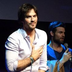 Ian Somerhalder - BloodyNightCon Europe - Brussels, Belgium - 30/05/2015