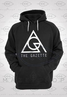 The Gazette Black Moral Hoodie Sweatshirt Visual Kei BabyMetal Dir en Grey Girugamesh Gackt Mejibray Versailles One ok Rock JRock SID Kagrra by Mazeishop on Etsy
