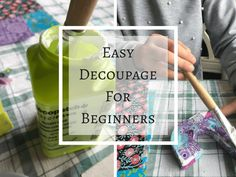Simple decopage project for kids, decopage for beginners, decopatch for kids, easy kid's craft activity Diy Christmas Gifts For Friends, Christmas Craft Fair, Easy Christmas Ornaments, Simple Christmas, Christmas Decorations, Diy Your Wedding, Wedding Decor, Easy Crafts To Sell, Local Craft Fairs