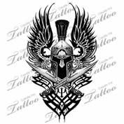 View Source More Tribal Spartan Shoulderbicep Custom Tattoo Helmet