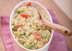 Quinoa a l'Orange Salad.