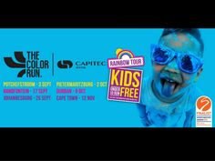 Win family tickets (2 adults and 2 children) for the Colour Run