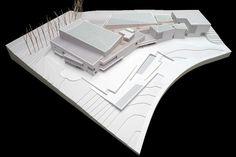 Museo Universidad de Navarra, architectural model