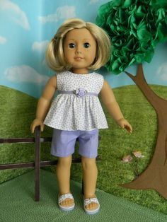 18 inch doll clothes American Girl doll clothes by SewCuteJune