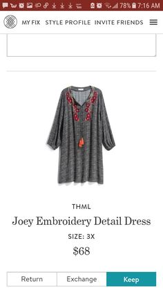 Plus size Stitch fix dress...